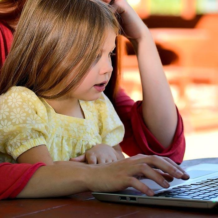 Kinder Computer Handy Tablet
