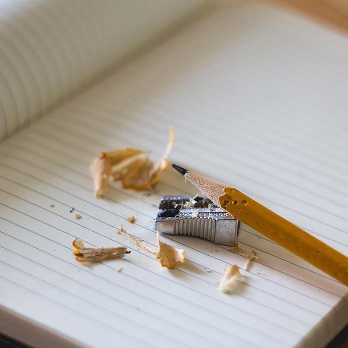 Kinder Schule Bleistift