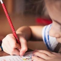 Kind lernen Stress