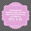 Zusammenfassend könnte man sagen, mein Kind wünscht sich zum Geburtstag eine Filiale von Toys 'R Us.